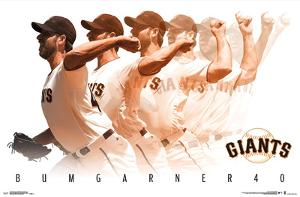 SAN FRANCISCO GIANTS - M BUMGARNER 17