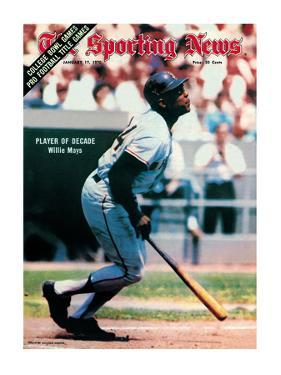 San Francisco Giants OF Willie Mays - January 17, 1970
