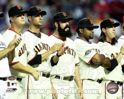 San Francisco Giants - Tim Lincecum, Pablo Sandoval, Matt Cain, Ryan Vogelsong, Brian Wilson Photo