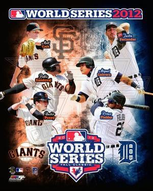 San Francisco Giants vs. Detroit Tigers World Series Match-up Composite