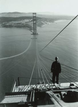 San Francisco, Golden Gate Bridge Construction