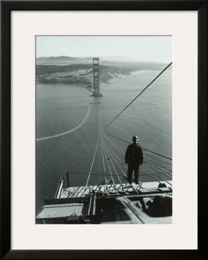 San Francisco, Golden Gate Bridge Construction