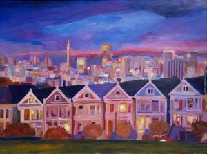 San Francisco - Painted Ladies by M Bleichner
