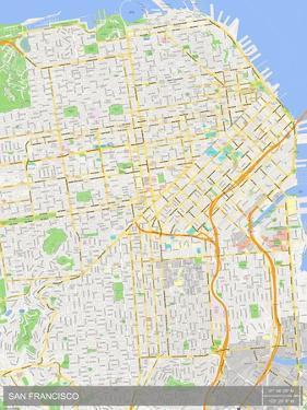 San Francisco, United States of America Map