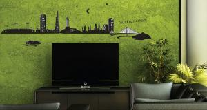 San Francisco Wall Decal Sticker