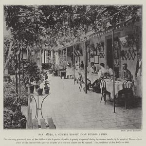 San Isidro, a Summer Resort Near Buenos Ayres