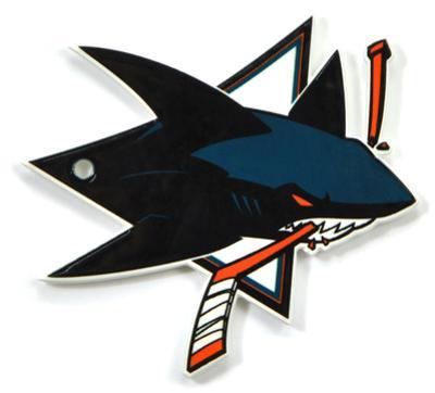 San Jose Sharks Steel Magnet