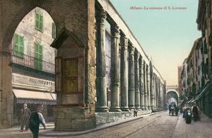 San Lorenzo Colonnade, Milan, Italy