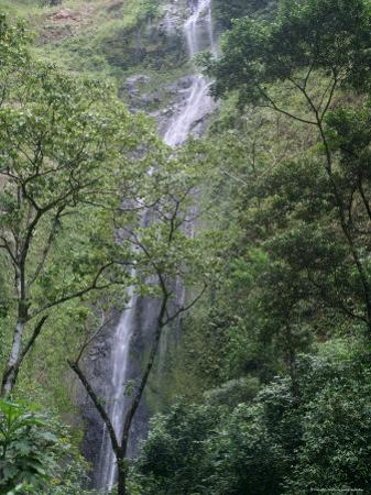 San Ramon Waterfall, Ometepe Island, Nicaragua, Central America by G Richardson