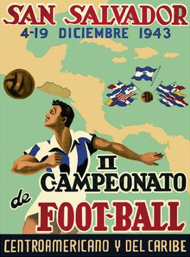San Salvador - Il Campeonato de Foot-Ball (2nd Championship Soccer) December 4-19, 1943