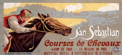 San Sebastian / Courses De Chevaux