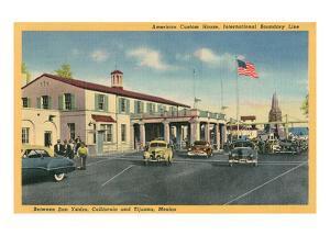San Ysidro Border Station, California