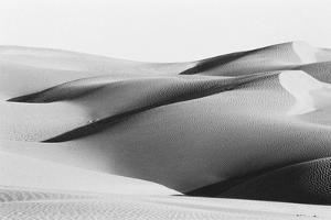 Sand Dunes at Sam Thar Desert, Jaisalmer, Rajasthan, India, 1984