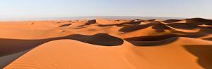 Sand Dunes in a Desert, Erg Chigaga, Sahara Desert, Morocco