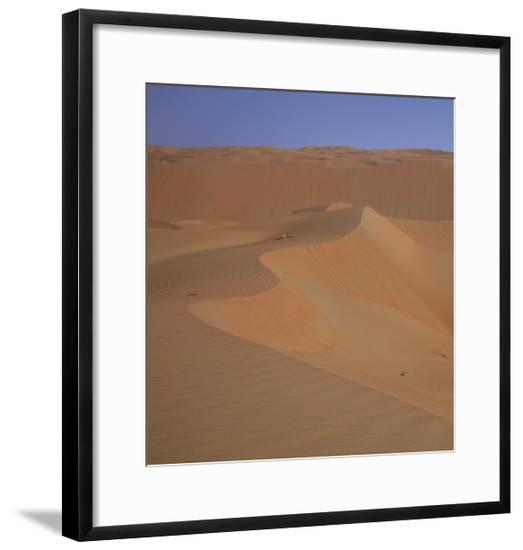 Sand Dunes In The Desert-Jason Matias-Framed Giclee Print