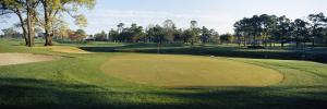 Sand Trap in a Golf Course, Westport Golf Gourse, North Myrtle Beach, South Carolina, USA