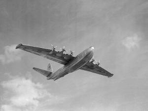 Sanders Roe SR45 Princess Flying Boat at SBAC Farnborough Airshow, September 1956