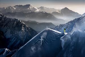 Silent Moments before Descent by Sandi Bertoncelj
