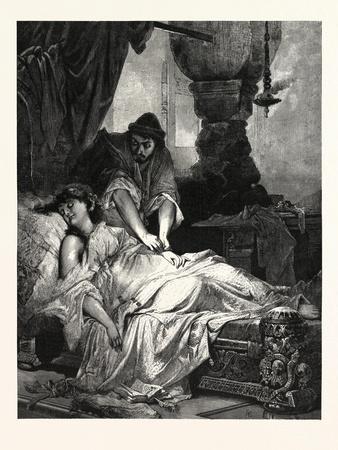 Iachimo and Imogen, William Shakespeare's Play Cymbeline
