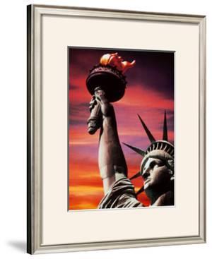 Statue of Liberty by Sandra Baker