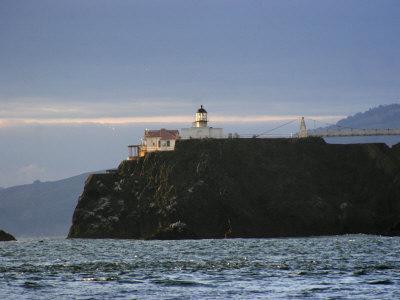 Early Morning at Point Bonita Lighthouse, San Francisco Bay, California