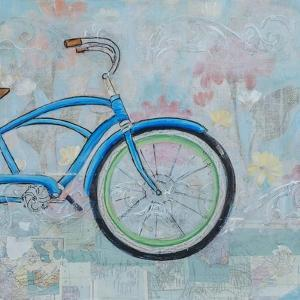 Bicycle Collage II by Sandra Iafrate