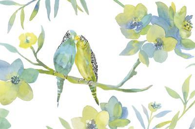 Budgie Love by Sandra Jacobs