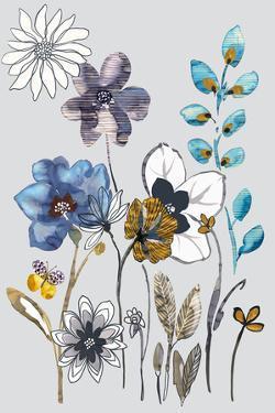 Field Flowers I by Sandra Jacobs