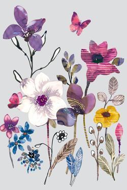 Field Flowers II by Sandra Jacobs