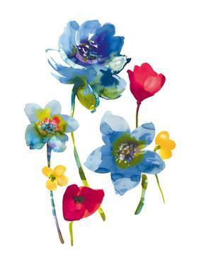 Flower Garden III by Sandra Jacobs