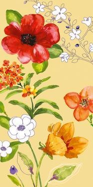 Fusion Flowers I by Sandra Jacobs
