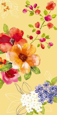 Fusion Flowers II by Sandra Jacobs