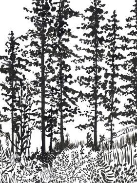 Inky Forest by Sandra Jacobs