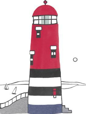 Lighthouse - Delmare by Sandra Jacobs