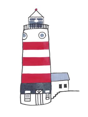Lighthouse - Naida by Sandra Jacobs