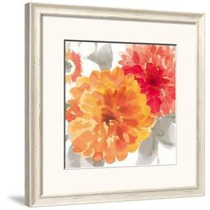 Peach Flower II by Sandra Jacobs
