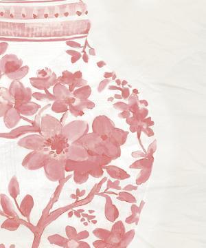 Porcelain Fencai I by Sandra Jacobs