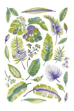 Tropical Fronds by Sandra Jacobs