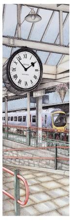 Carnforth Railway Station Clock, Lancashire, 2008