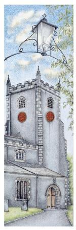 St Oswald's Church Clock, Warton, Lancashire, 2009