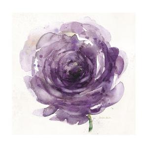 Watery Plum Bloom 2 by Sandra Smith