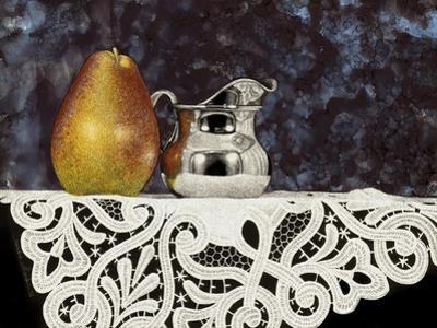 Pear and Silver Creamer by Sandra Willard
