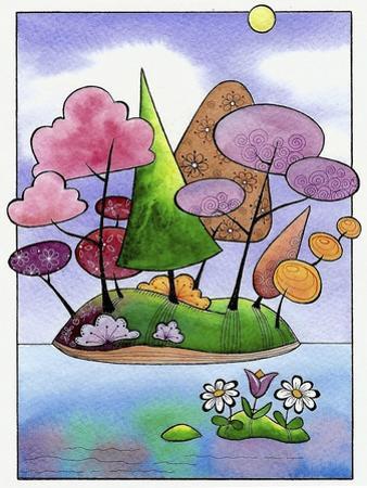 Undiscovered Isle by Sandra Willard