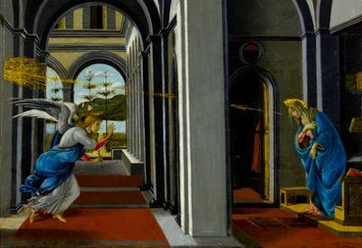 Sandro Boticelli The Anunciation Art Print Poster