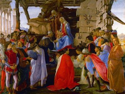 Adoration of the Magi, c.1473. by Sandro Botticelli