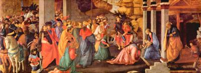 Sandro Botticelli Adoration of the Magi London 1 Art Print Poster