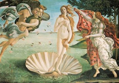 Botticelli- Nascita Di Venere (Birth Of Venus) by Sandro Botticelli