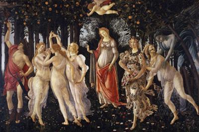 La Primavera, 1481-1482 by Sandro Botticelli