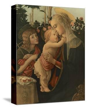 La Vierge avec l'Enfant et St. Jean by Sandro Botticelli