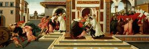 Last Miracle and the Death of Saint Zenobius, C. 1500 by Sandro Botticelli